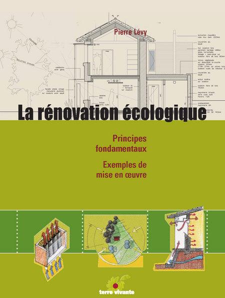 couverture du livre de Pierre Levy : la rénovation écologique